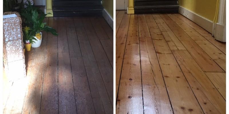 تفاوت قبل و بعد از پولیش